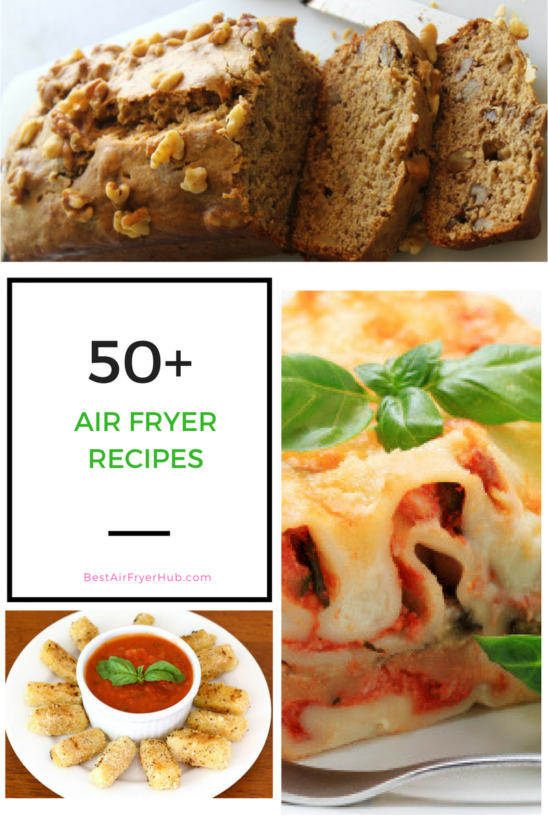 50+ Air Fryer Recipes