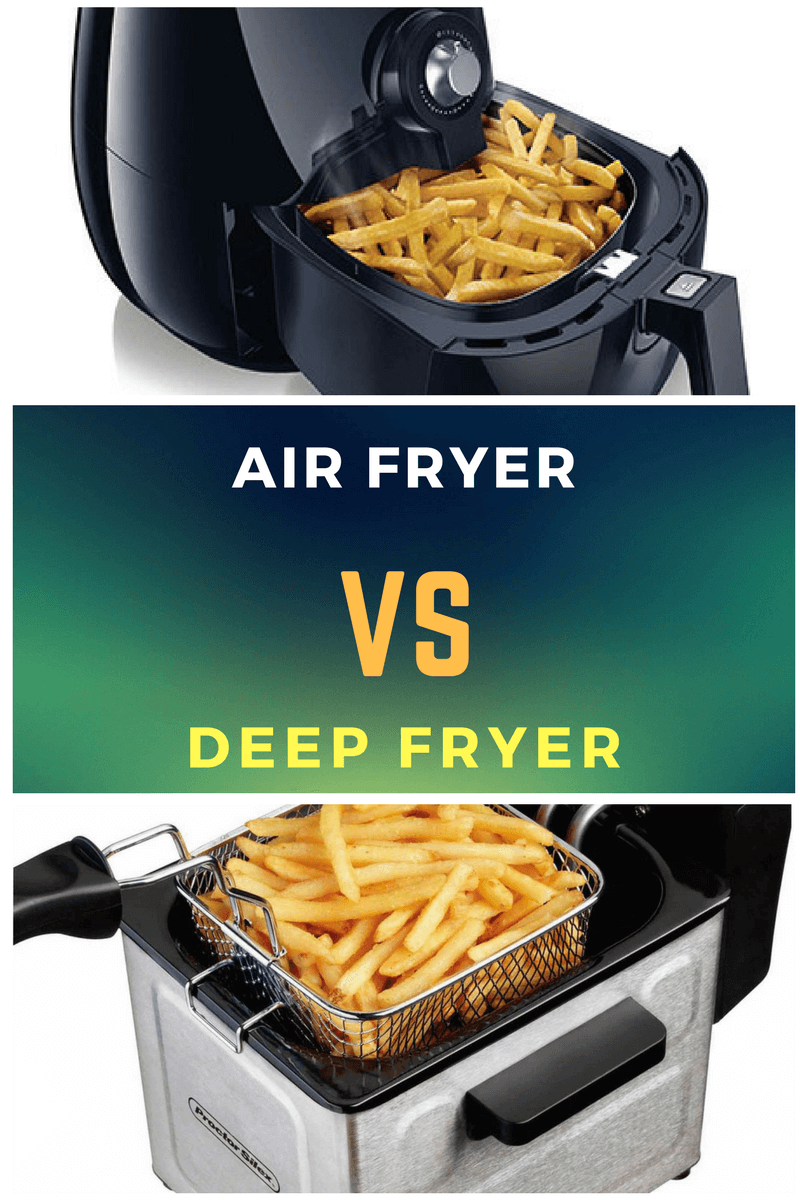 Air Fryer vs. Deep Fryer - Are air fryers good for you?