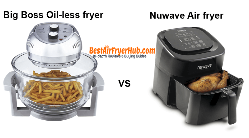 Big Boss Oil-less fryer VS Nuwave Air fryer
