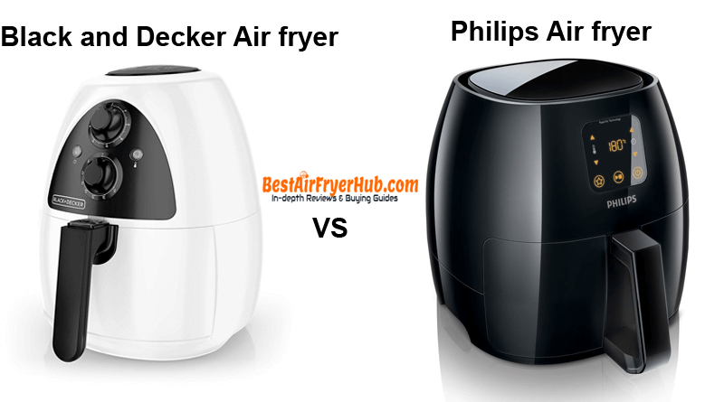 Black and Decker Air fryer VS Philips Air fryer