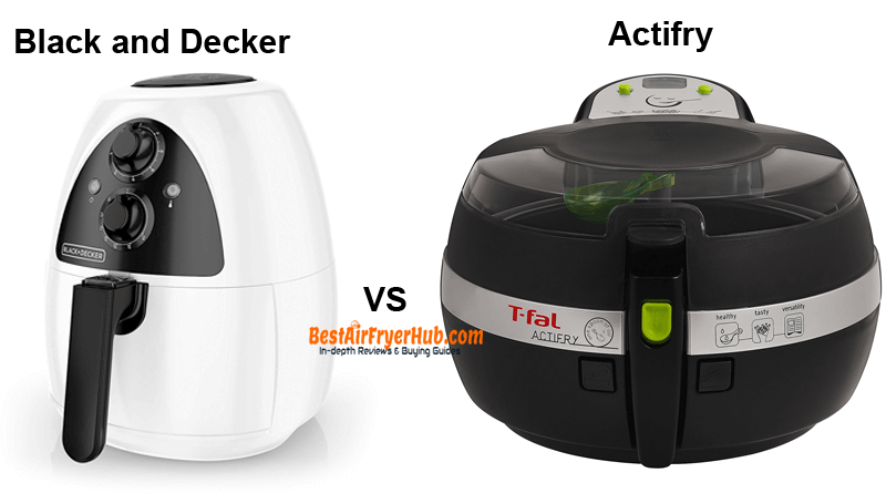 Black and Decker VS Actifry