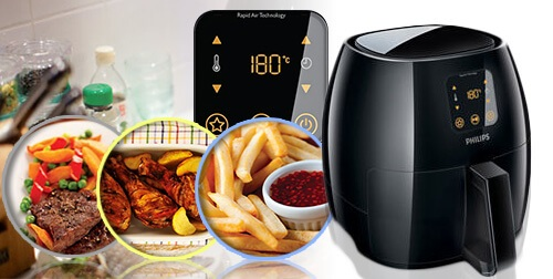 Cooking the Food in the Air fryer