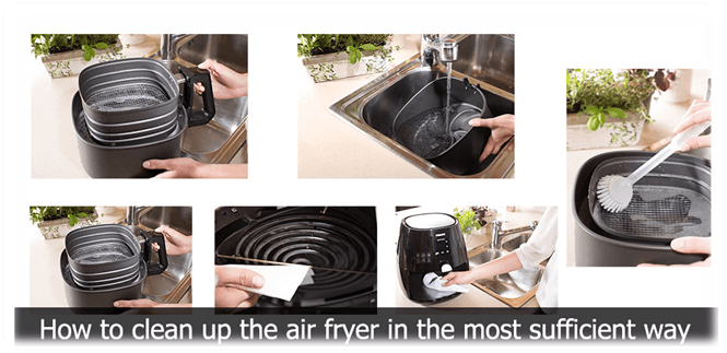 How to Clean Inside Air fryer