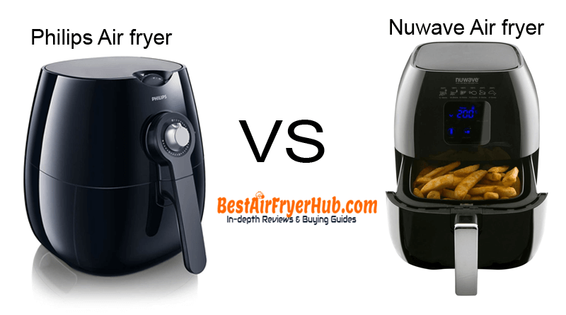 Philips Air fryer VS Nuwave Air fryer