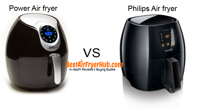 Power Air fryer XL VS Philips Air fryer