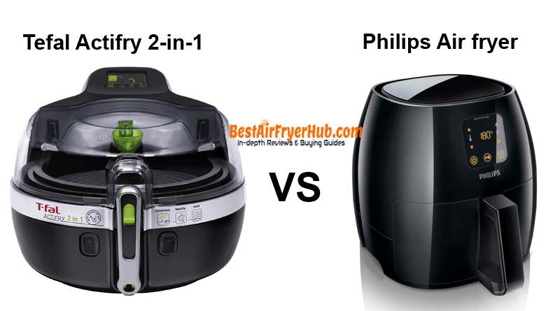 Tefal Actifry 2-in-1 VS Philips Air fryer