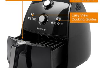 secura air fryer review