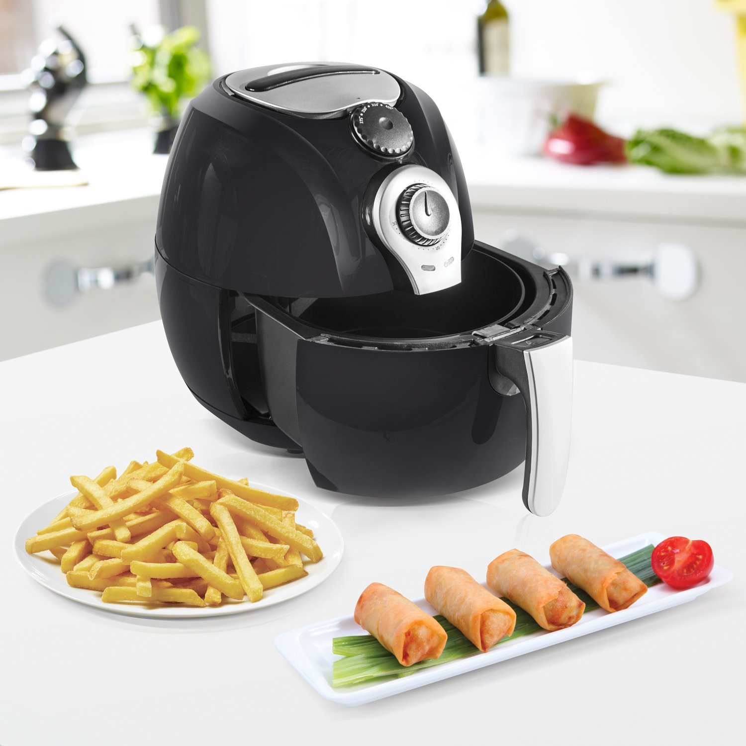 The Simple Chef Air Fryer Review Model Sc Airfy 3 5l