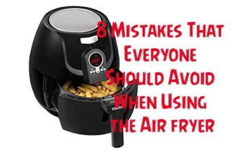 air fryer mistakes
