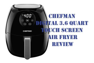 chefman digital air fryer review
